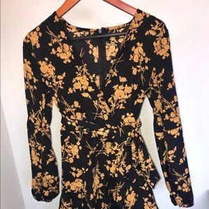 Floral dress size M